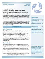 ADT Newsletter