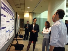 Dr. Hamidi talking about her research findings.